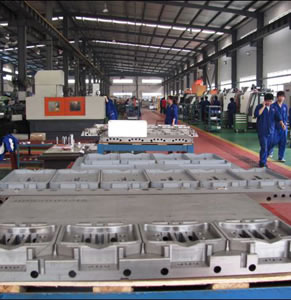 China Plastic Mold Factory