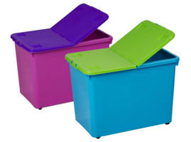 Injection Molded Container and Bins