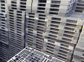Injection Molded Pallet and Crate