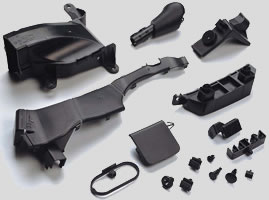Injection Molded Automotive Parts