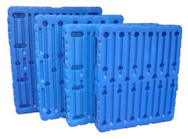 Blow Molded Trays and Pallets